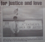 A fathers walk for justice