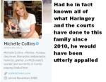 Michelle Collins  is the person who did stand up in the Criminal Court and do what she did do.